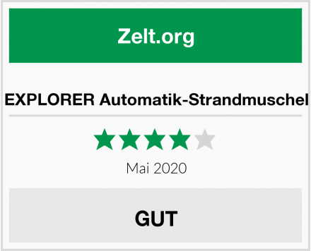No Name EXPLORER Automatik-Strandmuschel Test