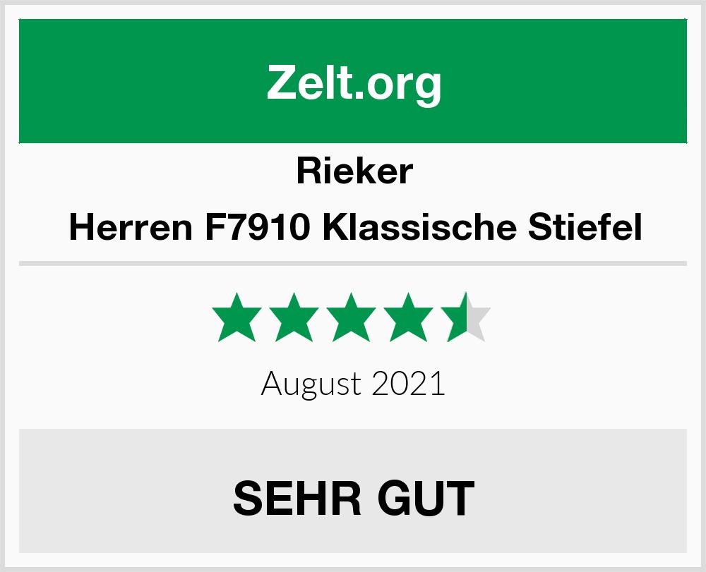 Rieker Herren F7910 Klassische Stiefel