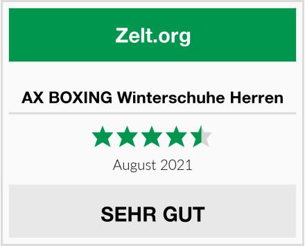 AX BOXING Winterschuhe Herren Test