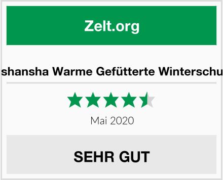 No Name Mishansha Warme Gefütterte Winterschuhe Test
