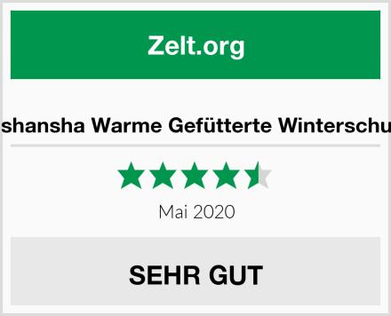 Mishansha Warme Gefütterte Winterschuhe Test