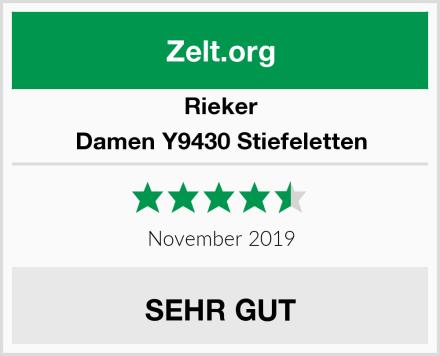 Rieker Damen Y9430 Stiefeletten Test