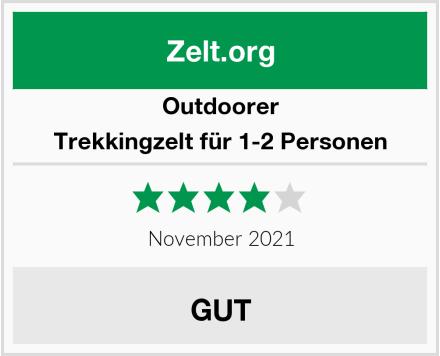 outdoorer Trekkingzelt für 1-2 Personen Test