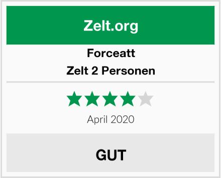 Forceatt Zelt 2 Personen Test