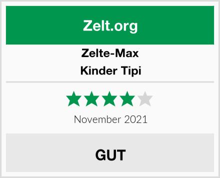 Zelte-Max Kinder Tipi Test