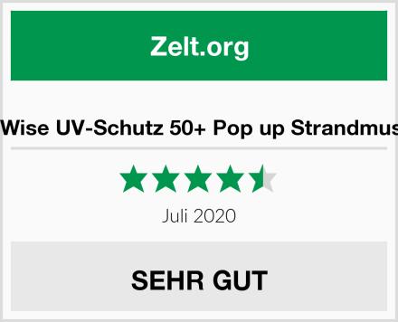 WolfWise UV-Schutz 50+ Pop up Strandmuschel Test