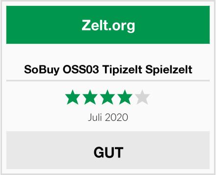 SoBuy OSS03 Tipizelt Spielzelt Test