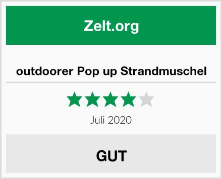 outdoorer Pop up Strandmuschel Test