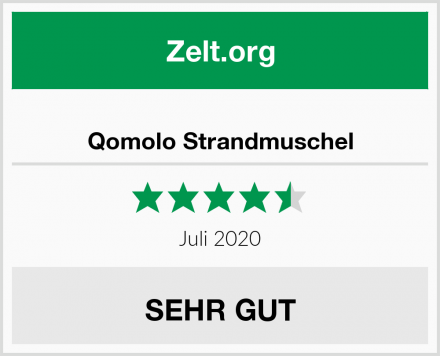 Qomolo Strandmuschel Test