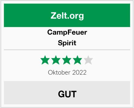 CampFeuer Spirit Test