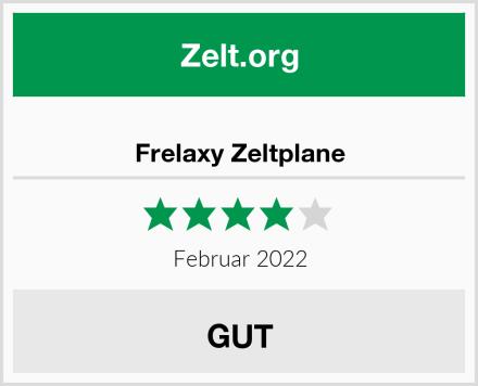 Frelaxy Zeltplane Test