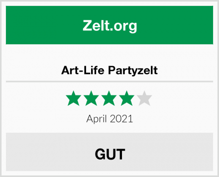 Art-Life Partyzelt Test