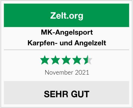 MK-Angelsport Karpfen- und Angelzelt Test