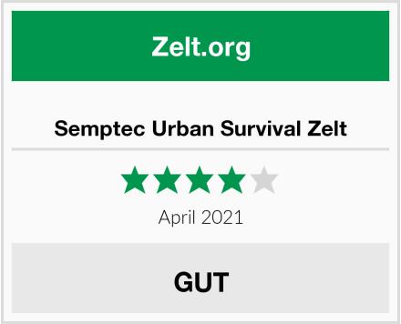 Semptec Urban Survival Zelt Test