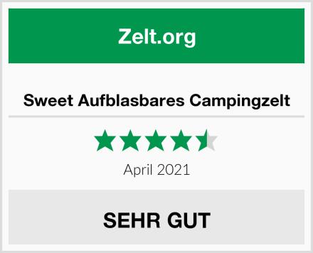 Sweet Aufblasbares Campingzelt Test