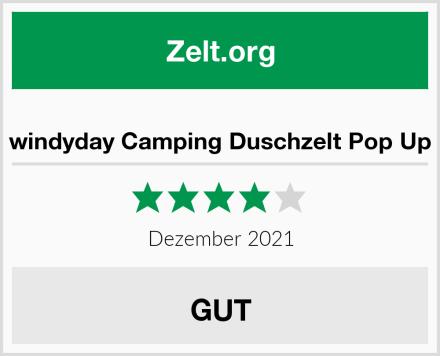 windyday Camping Duschzelt Pop Up Test
