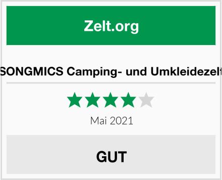 SONGMICS Camping- und Umkleidezelt Test