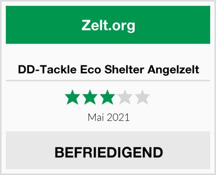 DD-Tackle Eco Shelter Angelzelt Test
