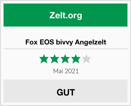 Fox EOS bivvy Angelzelt Test