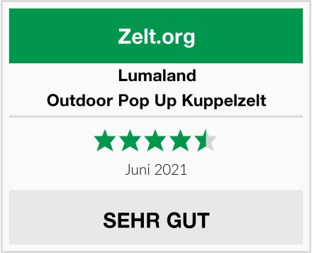 Lumaland Outdoor Pop Up Kuppelzelt Test