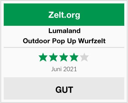 Lumaland Outdoor Pop Up Wurfzelt Test
