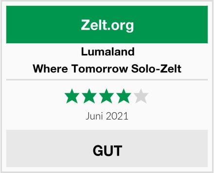 Lumaland Where Tomorrow Solo-Zelt Test