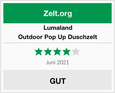 Lumaland Outdoor Pop Up Duschzelt Test