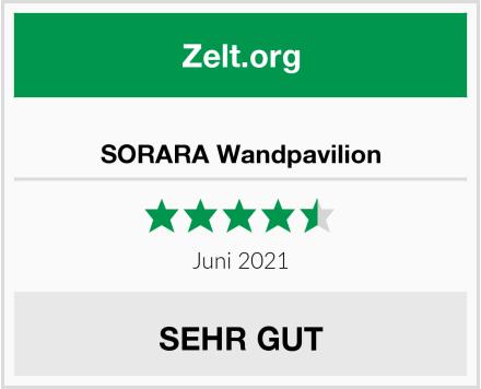 SORARA Wandpavilion Test
