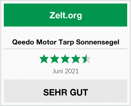 Qeedo Motor Tarp Sonnensegel Test