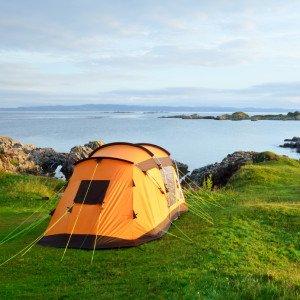 Camping tent Schottland