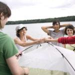 DIY: So bauen Sie ein Zelt