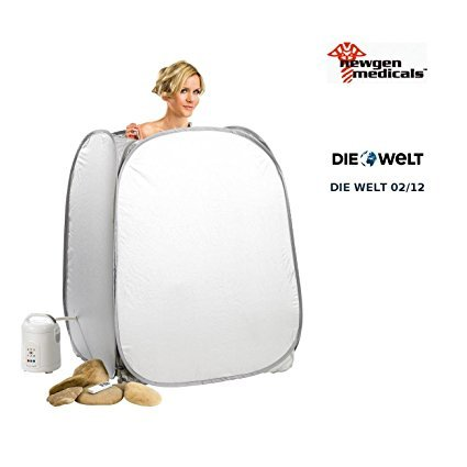 newgen medicals portables heim dampfbad und sauna zelt test 2017. Black Bedroom Furniture Sets. Home Design Ideas