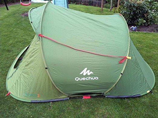 Quechua 2 Seconds Easy 3 Popup Zelt Test 2019