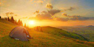 Die schönsten Plätze zum Zelten