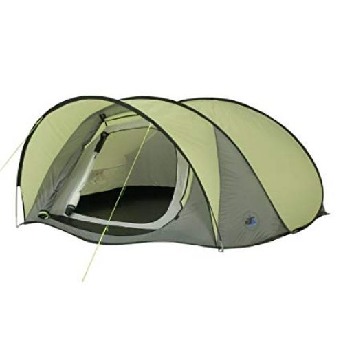10T Outdoor Equipment Zelt Pop-Up für 3 Personen