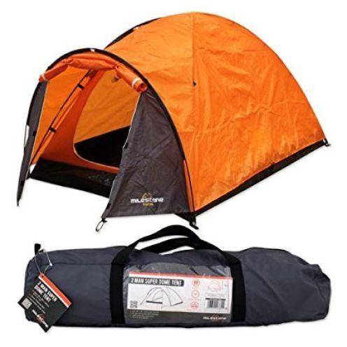 Milestone Camping Super-Kuppelzelt