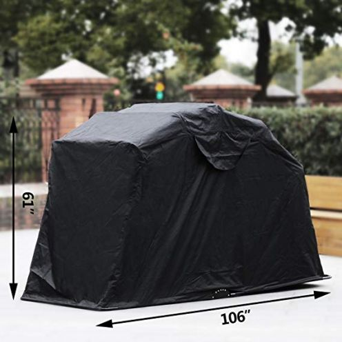 Anhon Motorcycle Shelter Storage