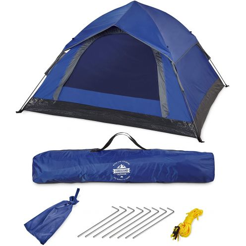 Lumaland Outdoor leichtes Pop Up Wurfzelt