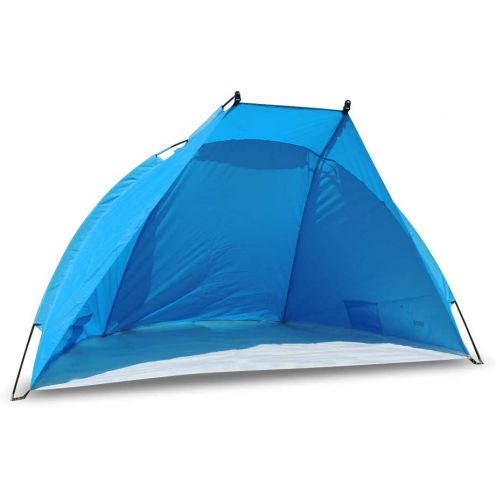 outdoorer Strandmuschel Zack II blau