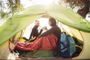 So vermeiden Sie Schimmel am Zelt