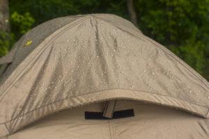 Was sagt die Wassersäule über ein Zelt aus?